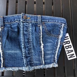 BDG Urban Outfitters Denim Bandeau